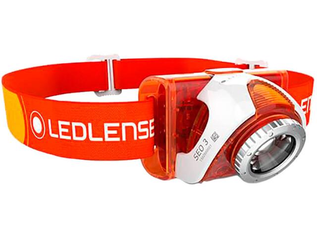 Led Lenser SEO 4 - Lampe frontale - orange